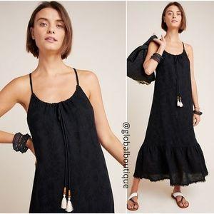 HTF NWT ANTHROPOLOGIE Talei Tasseled Maxi Dress